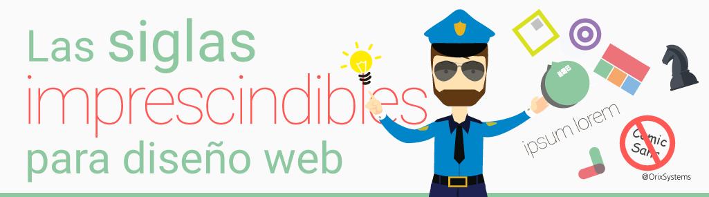 Las siglas imprescindibles para diseño web