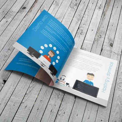 Creación de folletos corporativos
