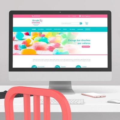 Páginas con diseño web moderno
